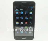 "5.0"" Capacitive touch screen GPS WIFI WCDMA 3G Android 4.0 OS MTK6575 phone N8000"