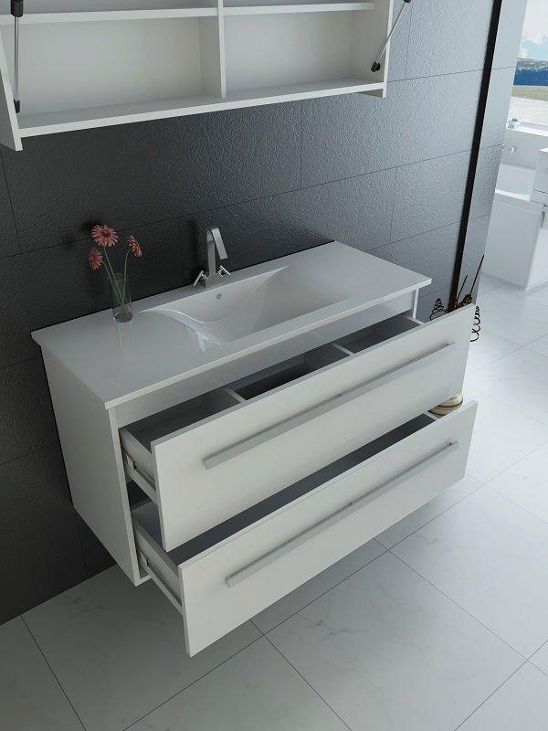 Baños Gabinetes Modernos:Moderno sistema de iluminación gabinetes de baño-Tocadores de Baño
