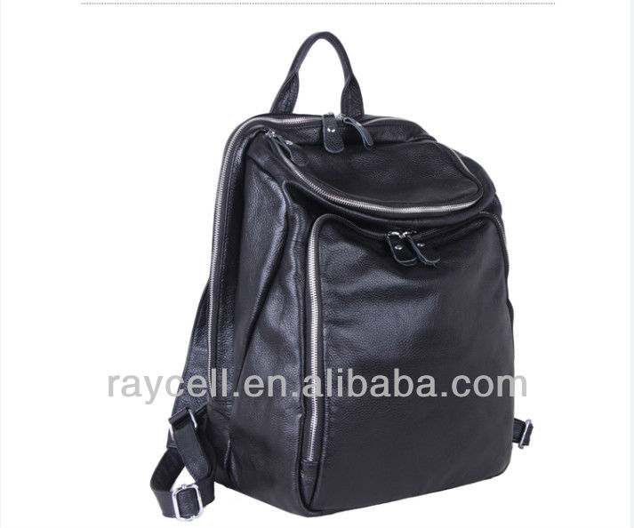 2013 fashion leisure top genuine leather travelling bag unisex wholesale factory China