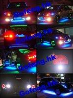 Лампочка освещения прибора GFG 100pcs/lot 5 3SMD 3 led SMD 3528 led T5