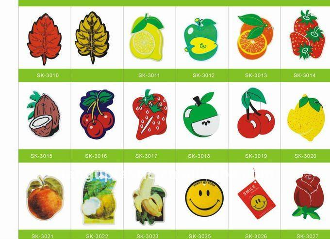 fruit design paper freshener