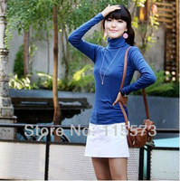 Женский пуловер New Sweaters 2012 Women's Soft Striped Baggy Jumper The Round Packages Needle Warm Sweater