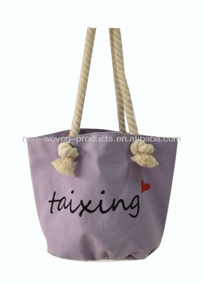 cotton soft handle shopping bag