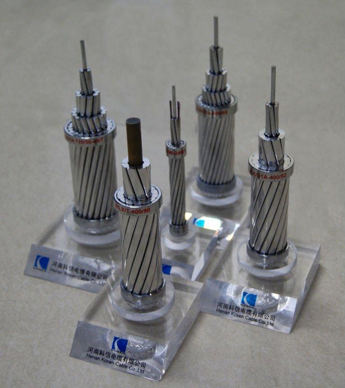AAAC,AAC,ACSR,AACSR,ACSR/AW Conductor ASTM B232, BS315, DIN48204, IEC61089)