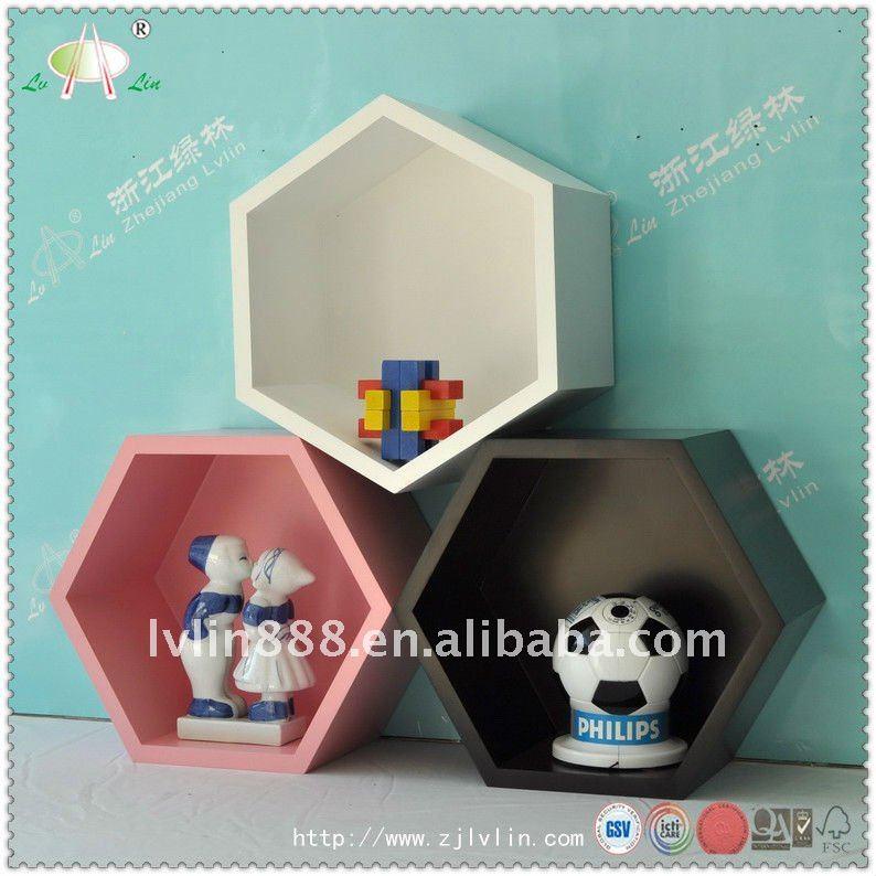 huis kubus plank/houten muur kubus plank/home decoratieve kubus ...