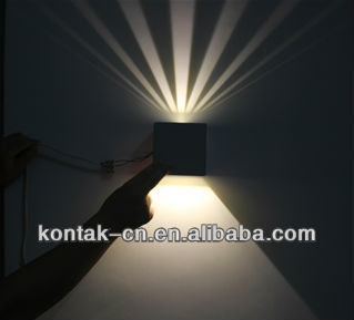 Led modern design lights/cheap outdoor lighting wall