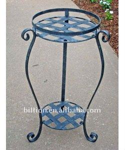 Wrought Iron Flower Pot Holder In Garden Buy Wrought