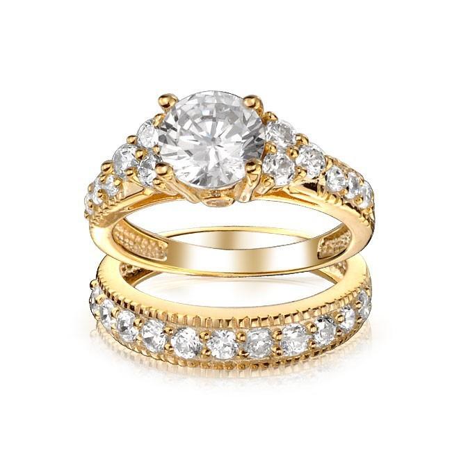 золото-ярко-красный цвет-обручальное кольцо-set_DAR-13030404-1
