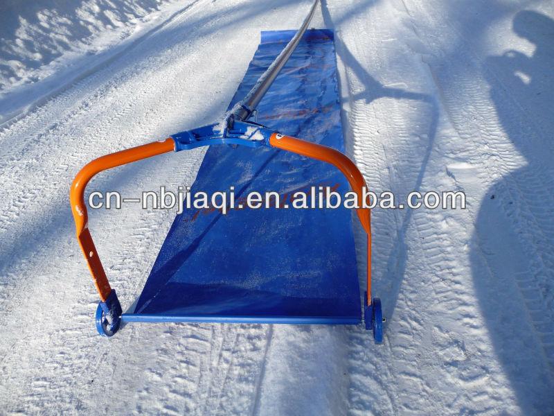 Приспособление для уборки снега с крыши своими руками