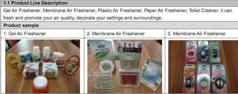 2014 New Gel Scented Strawberry Air Deodorizer Hanging Car Air Freshener