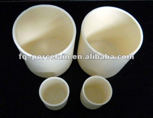 High Temperature Alumina Ceramic Crucibles