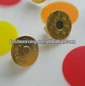 10mm/14MM Antique Brass bags magnetic snaps wholesale