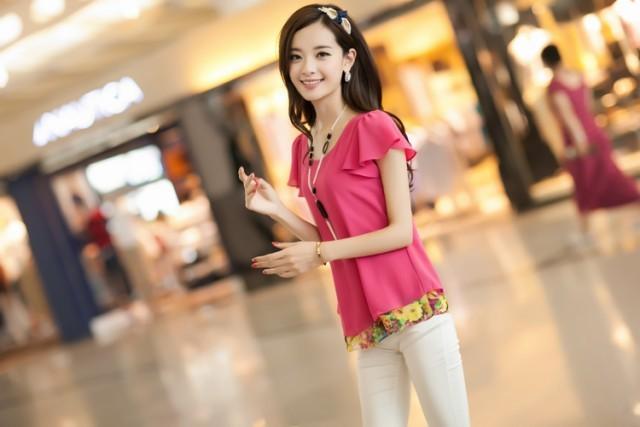 Женские блузки и Рубашки ENJ + LJ55