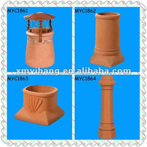 Capuchon de pluie imperm able l 39 eau chaude design chemin e terre cuite imperm able id du - Chapeau cheminee terre cuite ...