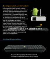 RC11 беспроводной клавиатуры android air мыши пульт дистанционного управления с гироскопом для mk802 ug802