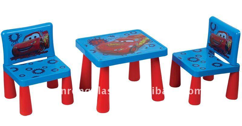 Children plastic table and chair set view baby plastic - Set table plastique ...