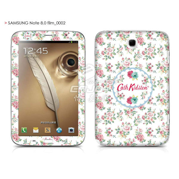 Cover for Samaung Galaxy Note 8.0 N5100 Screen Protector and Back Cover