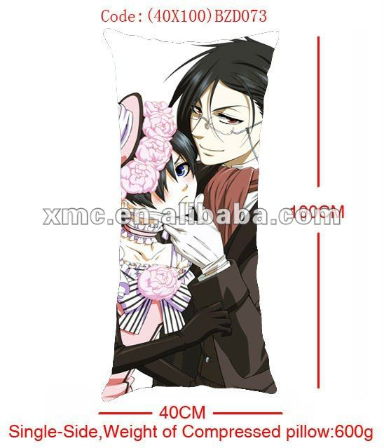 hot beauty Japanese anime hugging pillow long hug cushion designs