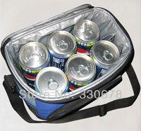 4.5 л изолированные открытый кулер обед мешок пикник пикник напиток fronzen питания держателя питания держать теплой сумочка