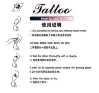Товары для макияжа temporary tattoo sticker waterproof barcode Teal ladies female sexy party sleeve arm waist