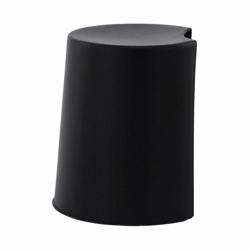 Petalo Modular Stackable Plastic Stool Black Buy Plastic