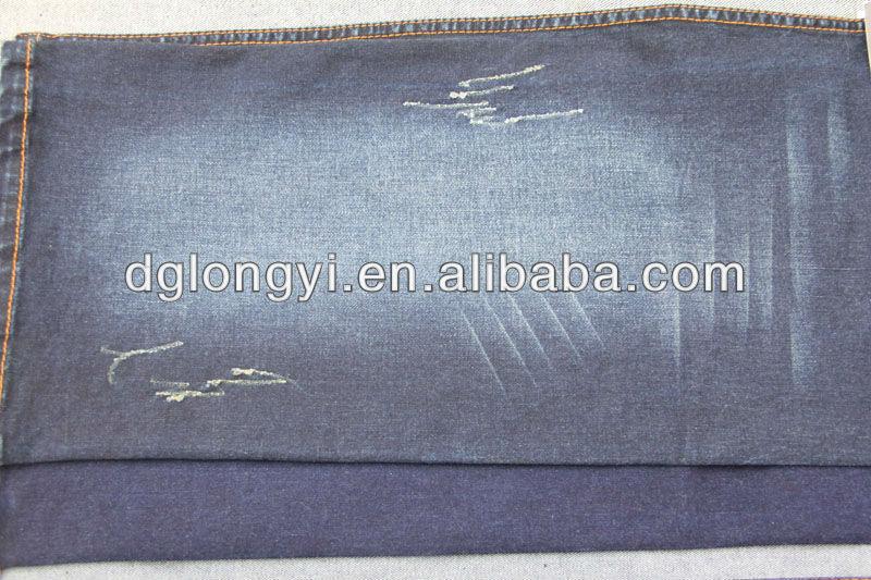 2013 100% cotton light denim fabric