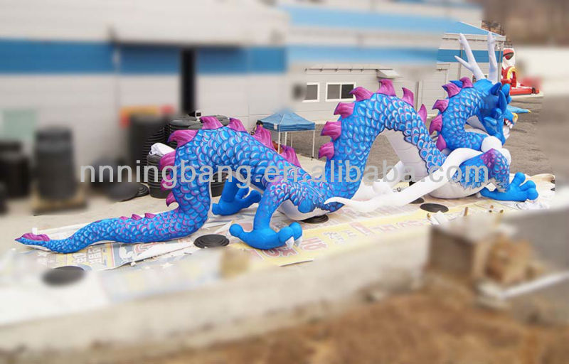 Giant inflatable dragon for outdoor decorations