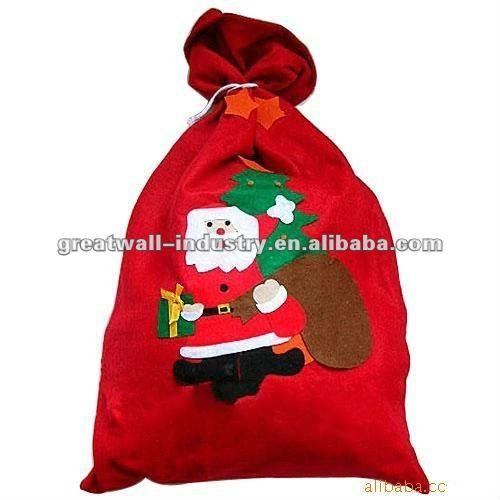 Santa claus bolsa grande ( 68*49cm )/navidad bolsa de caramelos ...