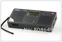 Радио 1PCS PL-398MP DSP FM MW SW SHORTWAVE TECSUN PL398MP PORTABLE MP3 RADIO RECEIVER BLACK