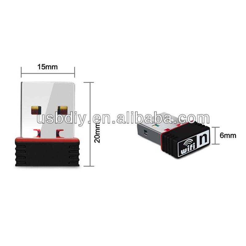 150Mbps 150M Mini USB WiFi Wireless Adapter Network LAN Card 802.11n/g/b 2.4GHz