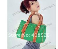 Сумка через плечо 2013 Fashion Ladies' Canvas Bag, Shoulder Bag Hot sale Handbag 5413