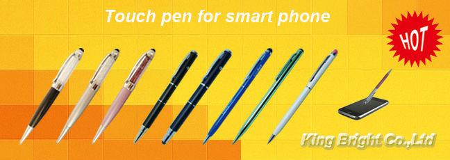 2-in-1 pro stylus pen with ballpen writing