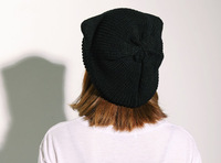Женская шапка 2013 Tops For Winter Knitted Cat Ears Hat Knitting Warm Fashion Beanies Women Winter Cap