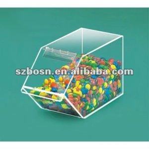 Acrylic Candy Bin/ Acrylic Candy Box/ Acrylic Candy Display Box