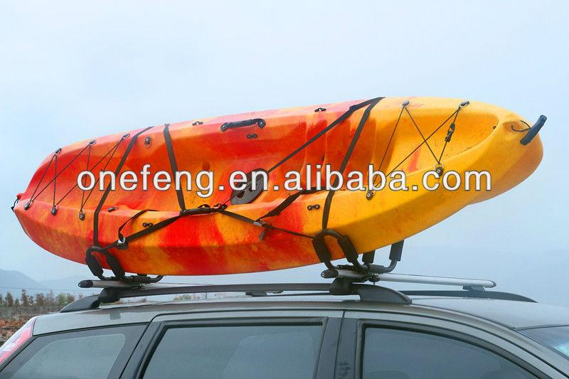 Kayak en rack rack de cano kayak galerie de toit for Porte kayak voiture