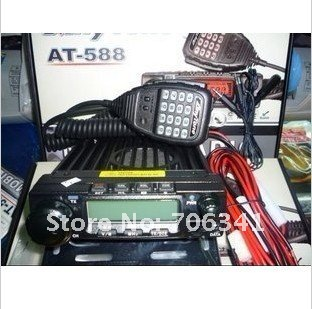 CE Approval ANYTONE AT-588 UHF 400-470MHz AM/FM Mobile Two Way Radio Transceiver  for Taxi/Wholesale Retail