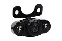 Система помощи при парковке Wireless Video Parking Radar 4 Sensors Kit 4.3 inch Car Rear View Mirror Monitor + LED Rear View Car Camera Parking Assistance