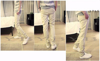 Товары на заказ 2013 Fashion Korean Taper Pants casual Slim Fitness Harem Trou Men's Skinny Pant E1715-K25
