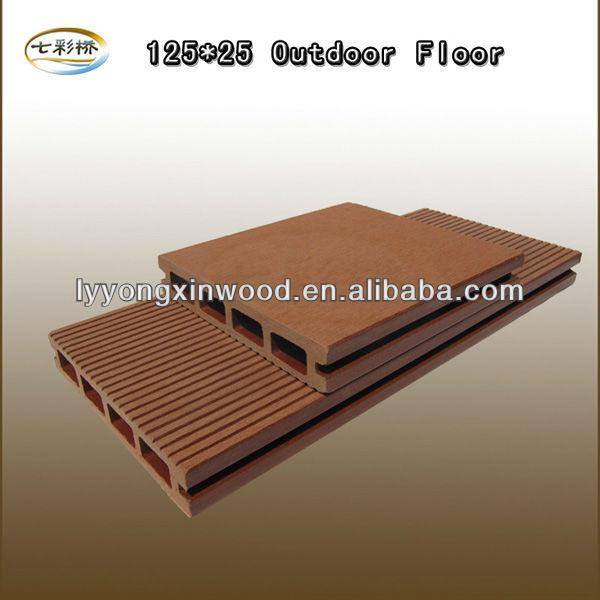Ext rieur d coratif bois plastique composite platelage for Plancher exterieur plastique