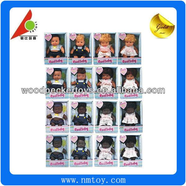 8 polegada lovey noir silicone reborn baby dolls