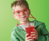 Free shipping,wholesale Novelty Flexible Soft Glasses Straw Glasses Drinking Tube Fun Drinking, best gift for children