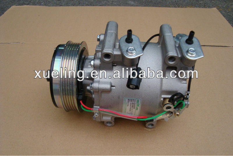 Fit /Jazz 1.3 brand new air compressor for Honda TRSE07