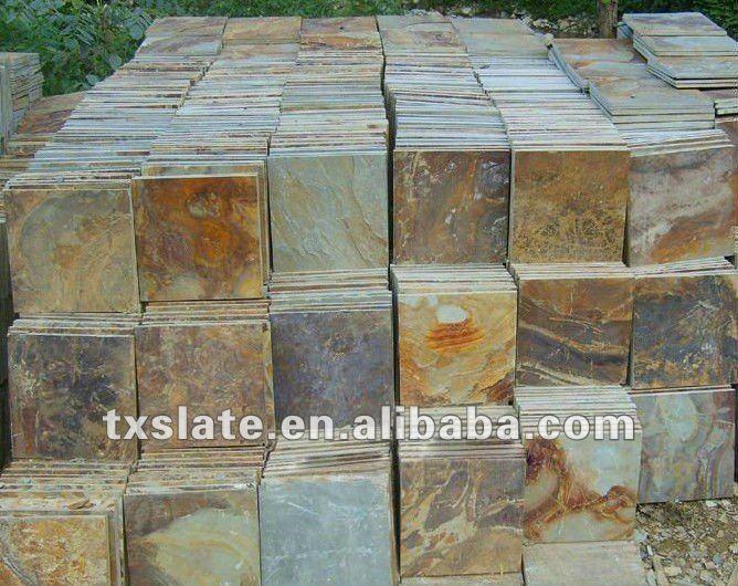 300*300 mm Black Natural Slate /Natural Slate Stone/Natural Slate Stone Tilea