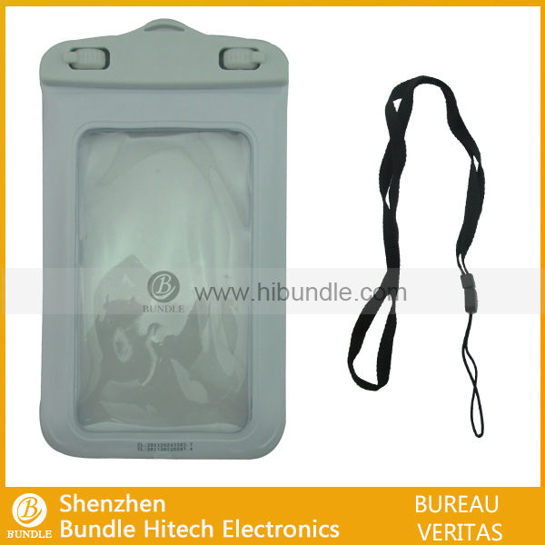 Mobile phone waterproof bag; for iPhone 5 waterproof case