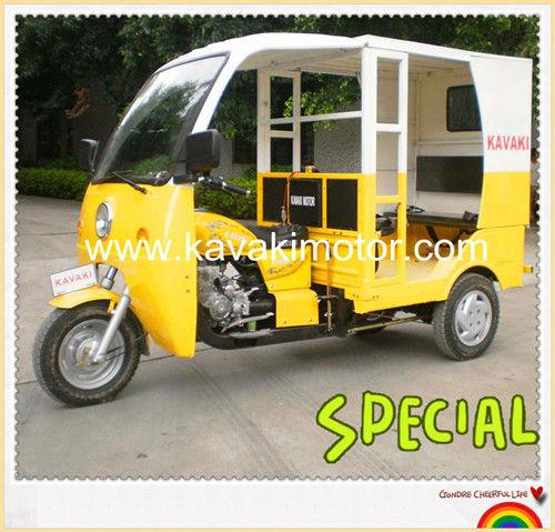 Best New BAJAJ Type Three Wheel Passenger Tricycle/Motorized Motorcycle