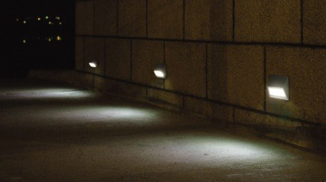 Pure aluminium 3w edison led outdoor step light with led driver r3a0008 3 aloadofball Gallery