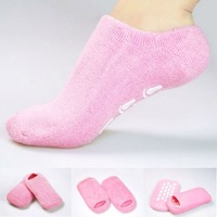 1pair Moisturize Soften Repair Whiten Skin Moisturizing Treatment Gel SPA socks Skin care socks best gift