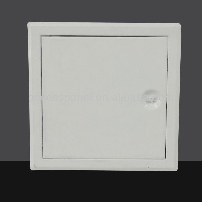 Steel Access Doors And Frames : Nylon key open steel ceiling maintenance metal access door
