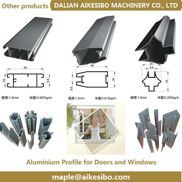 Aluminium Auto Car Window Extrusion Profiles