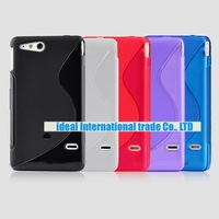 Чехол для для мобильных телефонов new 20pcs/lot s line silicone gel tpu case cover For sony Xperia Go ST27i